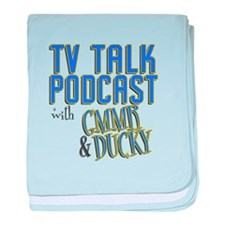 The TV Talk Podcast baby blanket