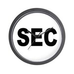 SEC Securities and Exchange Commission Wall Clock