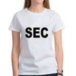 SEC Securities and Exchange Commission Women's T-S