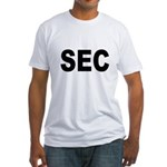 SEC Securities and Exchange Commission Fitted T-Sh