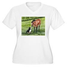 Bernese Mountain Dog Pup and T-Shirt