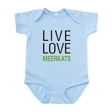 Live Love Meerkats Onesie