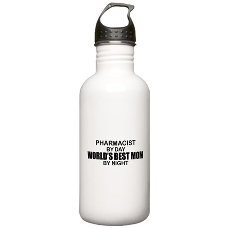 World's Best Mom - PHARMACIST Stainless Water Bott