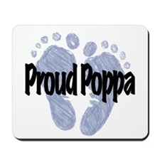 Proud Poppa (Boy) Mousepad