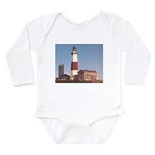 Montauk Lighthouse Long Sleeve Infant Bodysuit