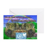 Rainbow Bridge Greeting Cards (Pk of 10)