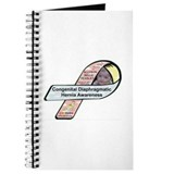 Allyson Belle Hensley CDH Awareness Ribbon Journal
