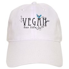 Vegan for life Baseball Cap