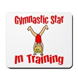 Gymnstic Star in Training Jacob Mousepad