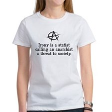 Anarchist Irony Tee