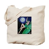 Luna Moth Fairy Pinup Tote Bag