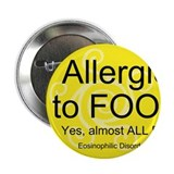 "Allergies 2.25"" Button"
