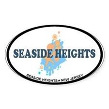 Seaside Heights NJ - Seashells Design. Decal