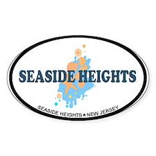 Seaside Heights NJ - Seashells Design. Decal