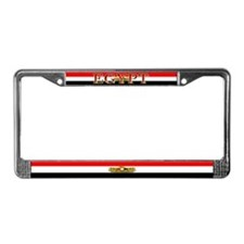 Egypt Egyptian Blank Flag License Plate Frame