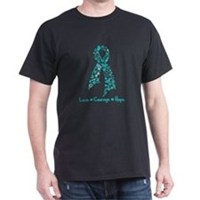 Ovarian Cancer Courage T-Shirt