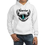 Warrior Ovarian Cancer Jumper Hoody