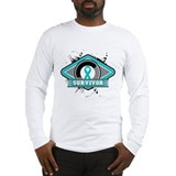 Ovarian Cancer Survivor Long Sleeve T-Shirt