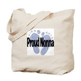 Proud Nonna (Boy) Tote Bag
