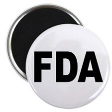 FDA Food and Drug Administration Magnet