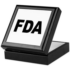 FDA Food and Drug Administration Keepsake Box