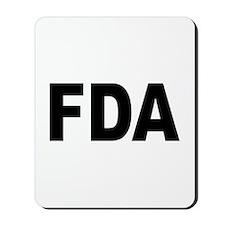 FDA Food and Drug Administration Mousepad