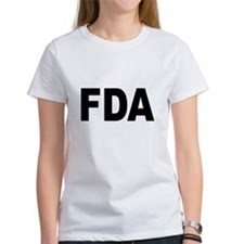 FDA Food and Drug Administration (Front) Tee