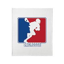 Major League Lacrosse Throw Blanket
