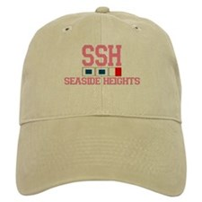 Seaside Heights NJ - Nautical Flags Design. Baseball Cap