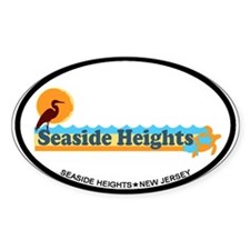 Seaside Heights NJ - Beach Design Decal