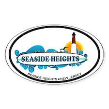 Seaside Heights NJ - Surf Design Stickers