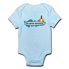 Seaside Heights NJ - Surf Design Infant Bodysuit