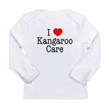 I Love Kangaroo Care Long Sleeve Infant T-Shirt
