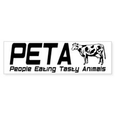 PETA Bumper Sticker
