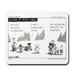 Island of Misfit Cases Mousepad