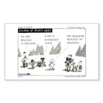 Island of Misfit Cases Sticker (Rectangle 10 pk)