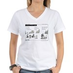 Island of Misfit Cases Women's V-Neck T-Shirt