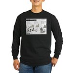 Island of Misfit Cases Long Sleeve Dark T-Shirt