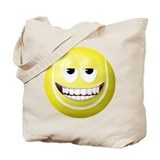 Tennis Ball 2 Smiley Face Tote Bag