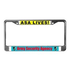 Funny Station License Plate Frame