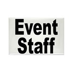 Event Staff Rectangle Magnet