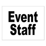 Event Staff Small Poster