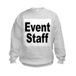 Event Staff (Front) Kids Sweatshirt