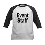 Event Staff Kids Baseball Jersey