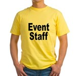 Event Staff (Front) Yellow T-Shirt