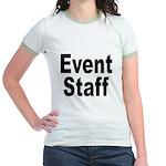 Event Staff (Front) Jr. Ringer T-Shirt