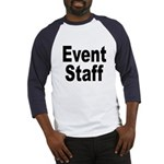 Event Staff (Front) Baseball Jersey