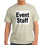 Event Staff (Front) Ash Grey T-Shirt
