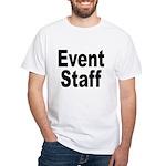 Event Staff White T-Shirt