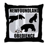 Newfoundland Utility Dog (UD) Throw Pillow